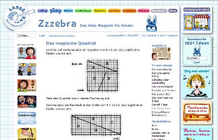 kinderfunkkolleg mathematik das magische quadrat. Black Bedroom Furniture Sets. Home Design Ideas